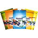 Ziminta Orange, Lemon, Mango, Pan Masala Flavoured Mint Mouth Freshener Easily Soluble Digestive Dispensable Strip (Blue, 30 Strips) - Pack of 5