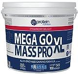 5kg Mega Go Mass Strawberry by Goprotein