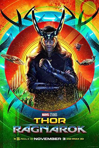 Postere Official Loki Thor Ragnarok Imax Premium Poster Premium Fanart Marvel Studios 12 X 18 Inches Superhero Fantasy Science Fiction Amazon In Home Kitchen