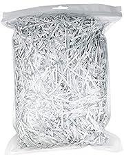 Glitter Raffia Paper Shreds & Strands Shredded Crinkle Confetti for DIY Gift Wrapping & Basket Filling