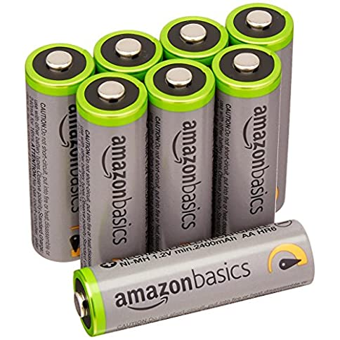 - 51JPTQ 2BaJ9L - AmazonBasics AA High-Capacity Rechargeable Batteries (8-Pack) Pre-charged – Packaging May Vary