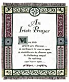 "An Irish Prayer Religious Afghan Throw Blanket 48"" x 60"""