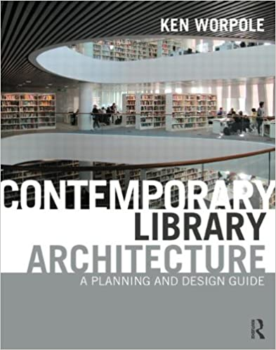 Amazon Com Contemporary Library Architecture A Planning And
