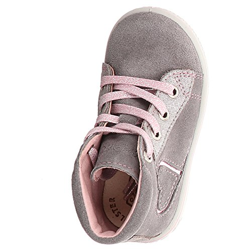 2517900 67 gris ville Gris 459 lacets Ricosta de 459 pour fille à Gris Chaussures 1fwCx