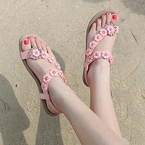 Sandalias De Mujer Imitaci De OHQ Diamantes Verano Sandalias De Zapatillas 4XqwCX