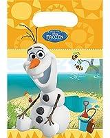 DISNEY FROZEN Olaf Summer Loot Bags (6 Pack)