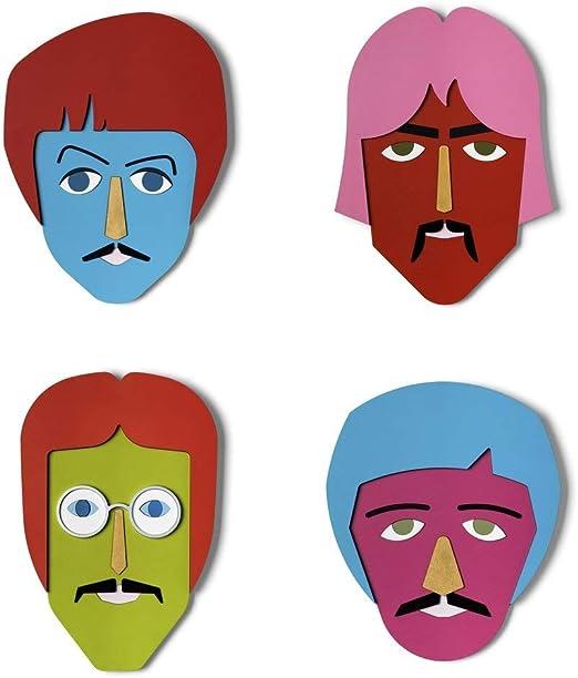 The Beatles Print Poster Comic Cartoon John Lennon Paul Macartney George Ringo Art Prints Art Roomburgh Nl