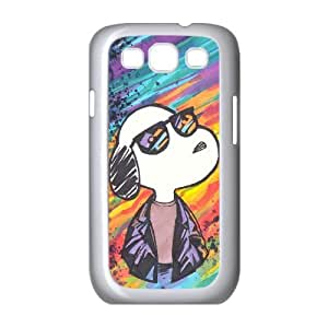 QSWHXN Cover Custom New Pattern Printing Snoopy Phone Case For Samsung Galaxy S3 I9300 [Pattern-1]