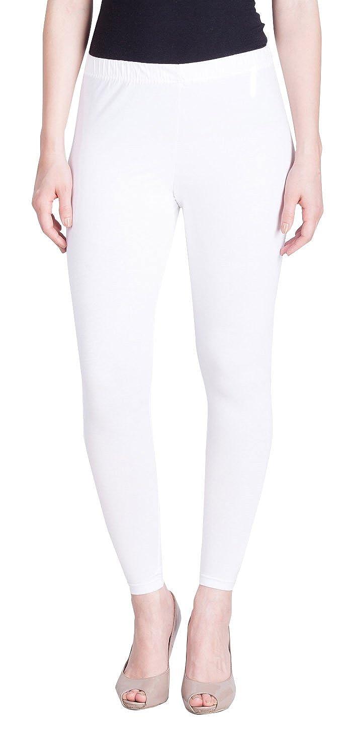 LUX LYRA Women's Leggings (LYRA AL Legg White 10_Free Size)