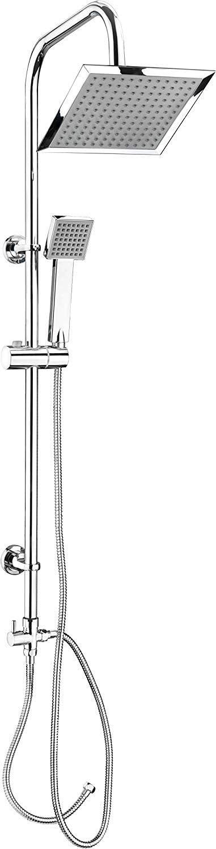 CON:P SA330101 Conjunto de ducha con barra (cuadrado, 1 función)