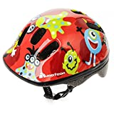 Baby Kids childrens Boys Cycle Safety Crash Helmet Small size (Monsters, 44-48 cm)