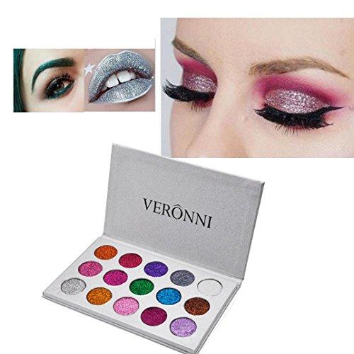 Dream Room VERONNI 15 Colors Glitter Eye Cosmetics Diamond E