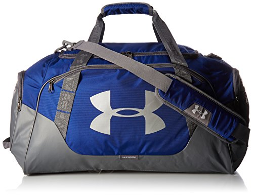 low priced 685ef 0fa96 Under Armour UA Undeniable 3.0 MD Duffle Bag, Royal Graphite, One Size