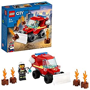 LEGO Fire Hazard Truck Building...