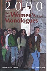 The Best Women's Stage Monologues of 2000 Paperback