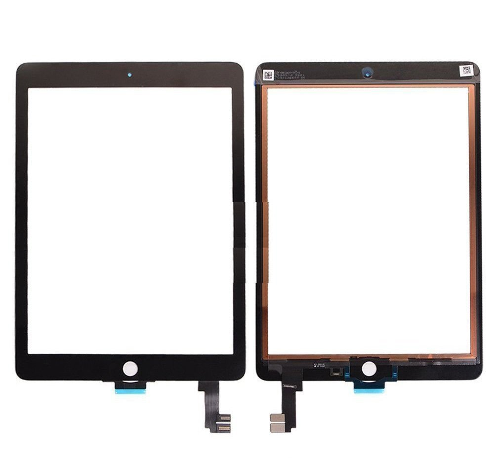 iPad Air 2 Digitizer Replacement Glass Touchscreen [Notice]- Need Professional Machine to fix Your iPad. Sell for Pro Repair Shop only [for Apple iPad Air 2 Generation A1566 A1567 only] Color Black.