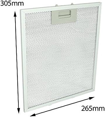 Spares2go - Extractor de rejilla de ventilación (aluminio, filtro de malla para la campana de cocina de Privileg): Amazon.es: Hogar