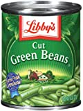 Libby's Cut Green Beans, 8-Ounce Cans (Pack of 12)