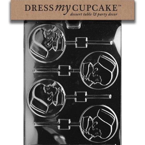 Dress My Cupcake Chocolate Candy Mold, Nurse Lollipop