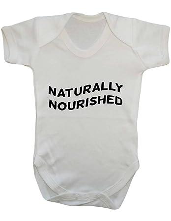 2e2593947f03fd Natürlich gepflegtes Stillen Support Muttermilch Muttermilch Baby Body  Strampler Weste  Amazon.de  Baby