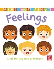 Find Out About: Feelings: A lift-the-flap board book of emotions