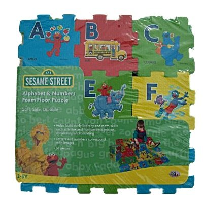 Sesame Street Alphabet Numbers Puzzle
