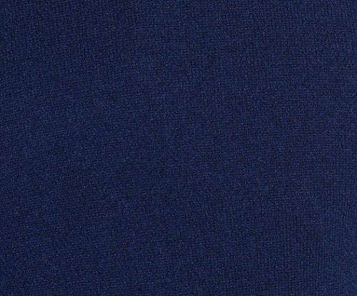 State Cashmere Women's 100% Pure Cashmere Open Front Long Cardigan, Navy, Large by State Cashmere (Image #1)