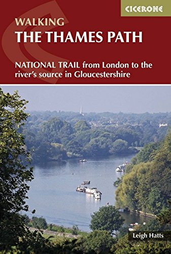 Download Walking the Thames Path: From London to the River's Source in Gloucestershire (Cicerone Walking) PDF