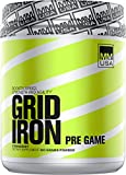 MMUSA Gridiron Pre-Game Diet Supplement Powder, Strawberry, 800 Gram