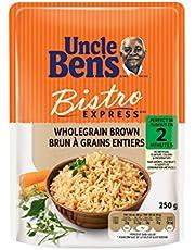 Uncle Ben's Bistro Express Wholegrain Brown Rice, 250 Gram