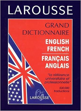 dictionnair anglais francais