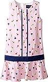 OSCAR DE LA RENTA Childrenswear Baby Girl's Mini Daisy Toss Cotton Drop Waist Dress (Toddler/Little Kids/Big Kids) Blush 8