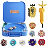 OBEST Bey Burst Battling Stadium Set with Launcher and Arena Metal Fight Battle Fusion Classic Toys for Kid