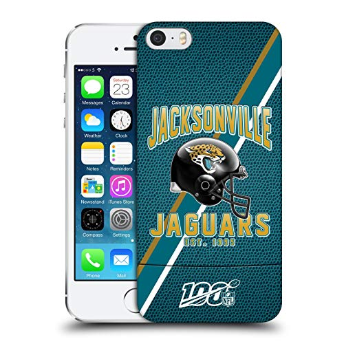 Official NFL Football Stripes 100th 2019/20 Jacksonville Jaguars Hard Back Case Compatible for iPhone 5 iPhone 5s iPhone SE ()