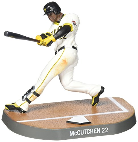 Imports Dragon Baseball Figures Andrew Mccutchen Pittsburgh Pirates Baseball Figure, 6""