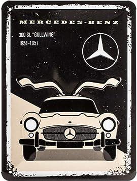 Auto-Styling Yoin 90 mm rundes Stern-Emblem f/ür Mercedes Benz GLC 260 300 Ersatz-Aufkleber Autozubeh/ör matte black mittlerer Kofferraum-Logo