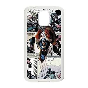 Samsung Galaxy S5 Cell Phone Case White Marvel comic thk