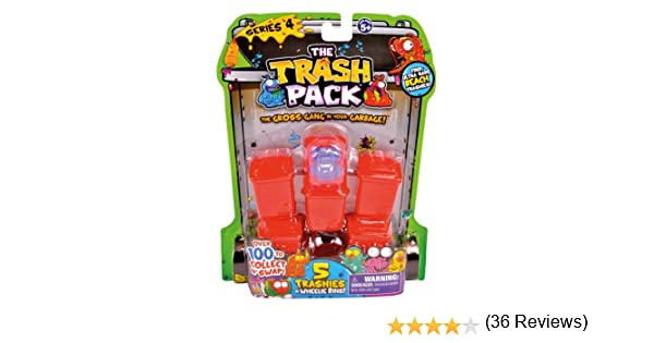 The Trash Pack Los Basurillas - S4, Blíster 5 basuras/5 Figuras (Giochi Preziosi 68115): Amazon.es: Juguetes y juegos
