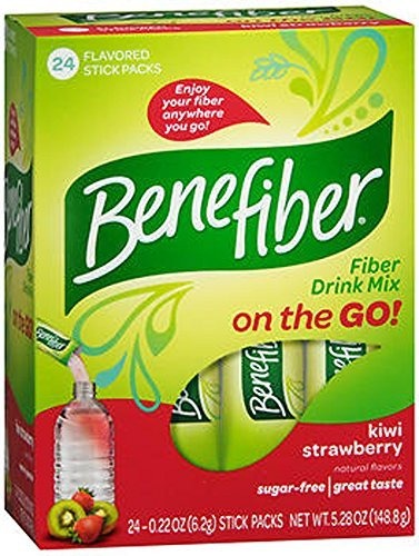 Benefiber Kiwi Strawberry Stick Packs 24 Count