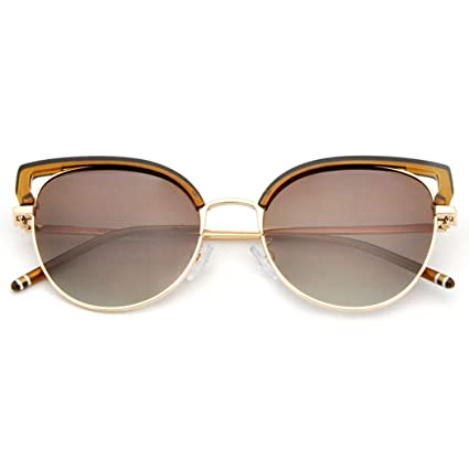 6e67657d9ff GJFeng Cat Side Polarized Sunglasses Full Frame Sunglasses UV Protection  Glasses Unisex Outdoor Sports Travel Driving