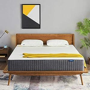 Sweetnight Queen Mattress-Queen Size Mattress,10 Inch Gel Memory Foam mattress for Back Pain Relief /Motion Isolation…
