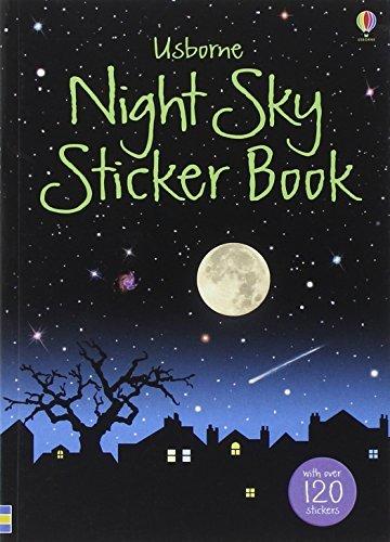 Night Sky Sticker Book (Usborne Spotter's Sticker Guides) by Sarah Kahn (2010-09-24) ()