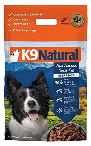K9 Natural Freeze Dried Dog Food Beef 4lb
