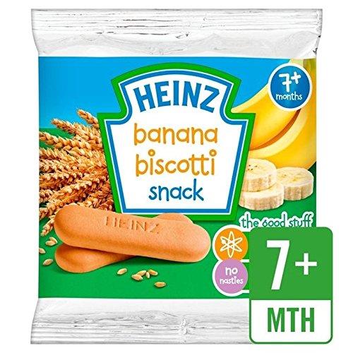 Heinz Banana Biscotti 7 Mths+ 60g