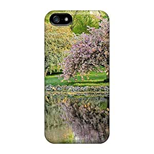 USMONON Phone cases Cute High Quality Iphone Iphone 5 5s Reflections Of Springtime Case