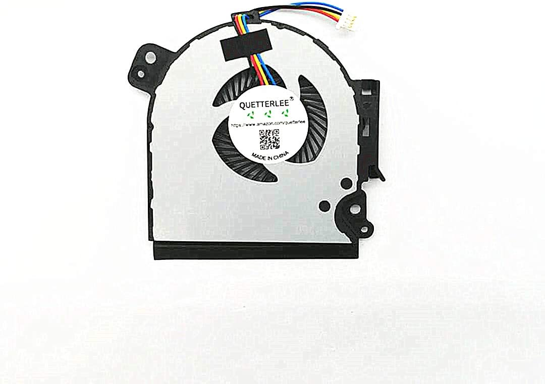 QUETTERLEE Replacement New Laptop CPU Cooling Fan for Toshiba Tecra A50-C A50-C1510 A50-C1520 A50-C1540 A50-C1550 Series DFS160005040T FGHV G61C0002Y 210 DC5V 0.5A Fan
