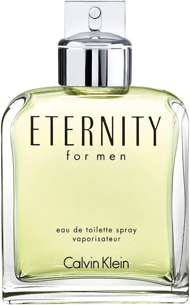 Calvin Klein Eternity Eau de Toilette para hombre, 50 ml