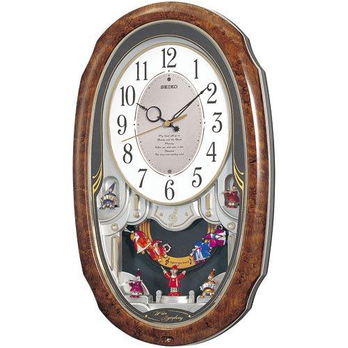 【PB商品】セイコー 電波からくり時計 RAM213H 【電波掛時計】 B004XB16P0