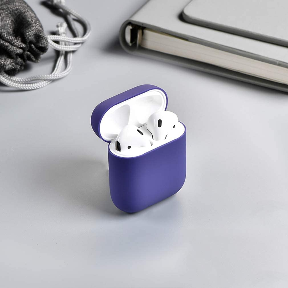 ZHANGYUFAN Compatible with Apple Wireless Headset Charging Box Case Universal Protective Cover Headset Apple Liquid Silicone Wireless Bluetooth Box Shatter-Resistant Shell Box