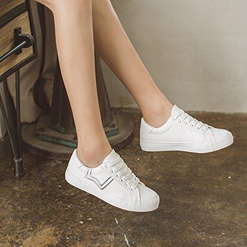 Zapatos Nan Inferior De 03 Plano Blancos Respirable Moda Verano Mujer Cr4wZqC